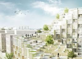 BIG Designs   Park Residential Development For Stockholm Big - Sustainable apartment design