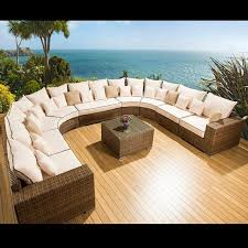 Best Outdoor Furniture Images On Pinterest Outdoor Furniture - Rattan outdoor sofas