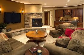 houzz basements living room with media black tr family room design