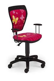 sedie da scrivania per bambini sedia girevole per bambini con motivo farfalla in rosa con