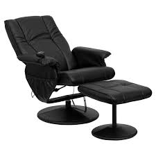 Ottoman Chair Zipcode Design Leather Heated Reclining Chair With Ottoman