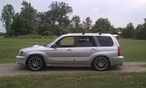 subaru forester lifted sold sg stock suspension with 1