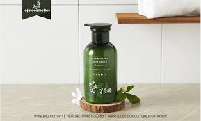 soft green sữa dưỡng thể innisfree my essential body soft green body lotion
