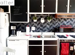 chalkboard kitchen backsplash before after justine s backsplash carrie s l vases