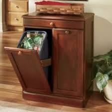 kitchen trash can ideas kitchen cabinet trash can attractive ideas 17 wood classics pull