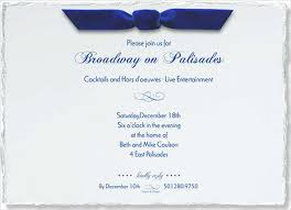 corporate party invitation wording