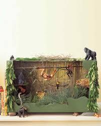 jungle diorama martha stewart