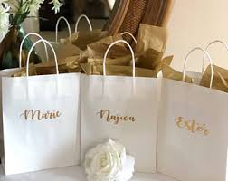 gift bags for wedding wedding gift bags etsy