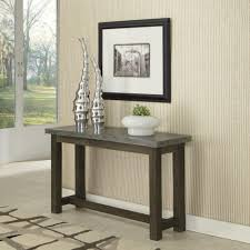 Concrete Console Table Home Styles Concrete Chic Weathered Brown And Aged Metal Console