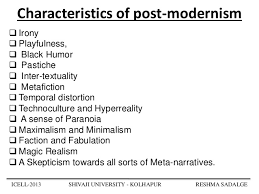 postmodern themes in film postmodernism what you would normally see in a postmodern film mine