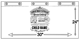personalized santa sack personalized santa sack silhouette cut file fynes designs