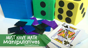 top 5 necessary homeschool math manipulatives