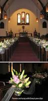 Wedding Decorations For Church Cathyswraps Blog Archive Tradtional Church Wedding Aisle