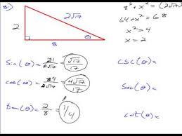 Algebra   Chapter    Section   Homework   Right Triangle Trigonometry YouTube