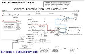 whirlpool kenmore u201ceven heat u201d dryer lights come on but the motor