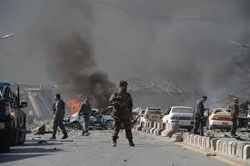 Car Interior Smoke Bomb Kabul Blast Kills Bbc Driver And Injures Four Other Staff After
