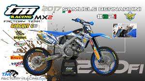 ama outdoor motocross tm factory racing team tmfr