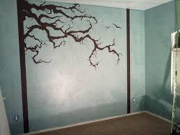 moorefield murals nature theme tim burton tree