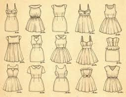 easy dresses to draw 100 images how to draw clothes easy step