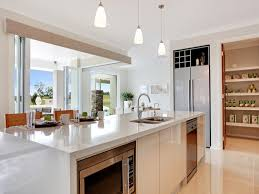 kitchen design with island with modern space saving design kitchen