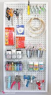 25 unique pegboard craft room ideas on pinterest craft rooms