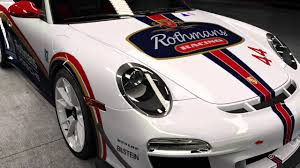 rothmans porsche 911 911 gt3 rs 4 0 rothmans livery youtube