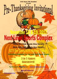 pre thanksgiving invitational showtime basketball