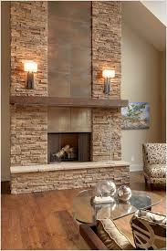 stone fire places fire place stone wall best 25 fireplace feature wall ideas on