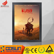 lighted movie poster frame lighted movie poster frame a0 source quality lighted movie poster