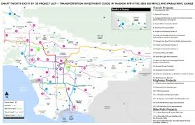 Gold Line Map Draft Details Announced For U201c28 By 28 U201d Metro Projects For L A