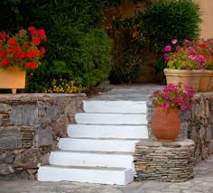 Large Planters For Trees by 64 Outdoor Steps With Flower Planters And Pots Ideas Pictures