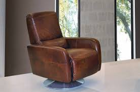 sofa extraordinary modern leather swivel recliner norman and