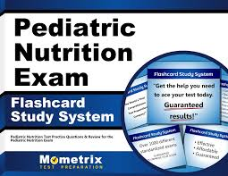 pediatric nutrition exam flashcard study system pediatric