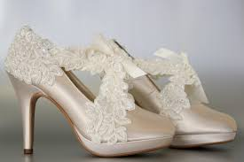 ivory shoes for wedding wedding shoes chagne platform wedding shoes with a ivory