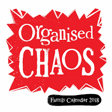 organised chaos family planner 2018 calendar club uk