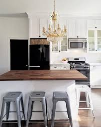 White Kitchen Black Island Best 20 Kitchen Black Appliances Ideas On Pinterest Black