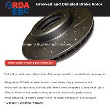 lexus v8 rotor rda40d front slotted rda disc brake rotors holden commodore vx vy