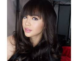hairstyles for straight across bangs cheat sheet want chic bangs like liza ylona and sofia s here s