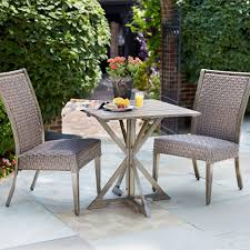 Bistro Patio Table Astonishing Pc Patio Bistro Set Outdoor Table And Chairs Wrough