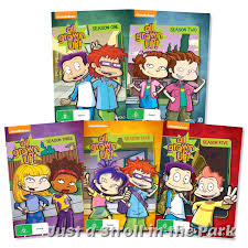 rugrats rugrats all grown up complete tv series seasons 1 2 3 4 5 box