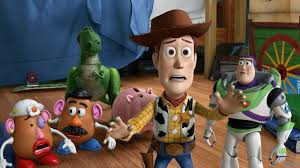 disney opens toy box toy story 3 manic expression