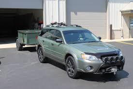 offroad subaru outback 2007 subaru outback 2 5 gorilla offroad bar w skid plate and winch