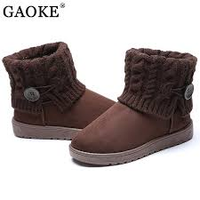 womens boots toe winter s boots suede leather boots toe flat shoes