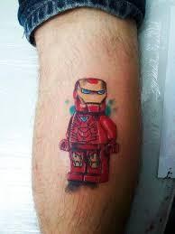 lego ironman tattoo tattoomagz
