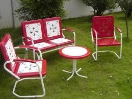 Retro Patio Furniture Sets Brilliant Beautiful Retro Patio Chairs Beautiful Design Ideas