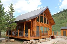small luxury log cabin floor plans