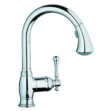 Glacier Bay Faucet Leaking From Neck by Grohe 33870en0 Bridgeford Pull Down Spray Kitchen Faucet Brushed