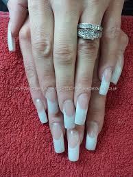 pink and white acrylic nails awesome nails pinterest white