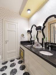 Black And White Wallpaper For Bathrooms - 15 reasons to love bathroom wallpaper