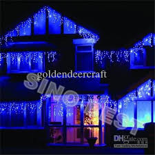 224 led 6m icicle lights for garden outdoor